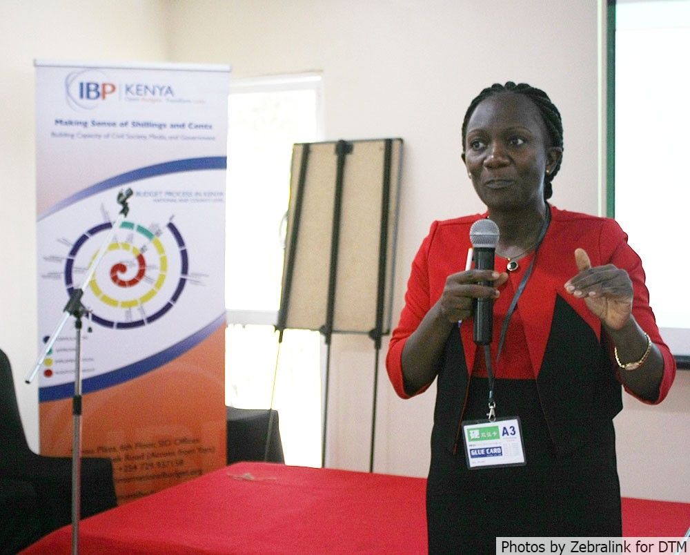 Mrs. Jacqueline Mogeni, acting CEO of Council of Governors.