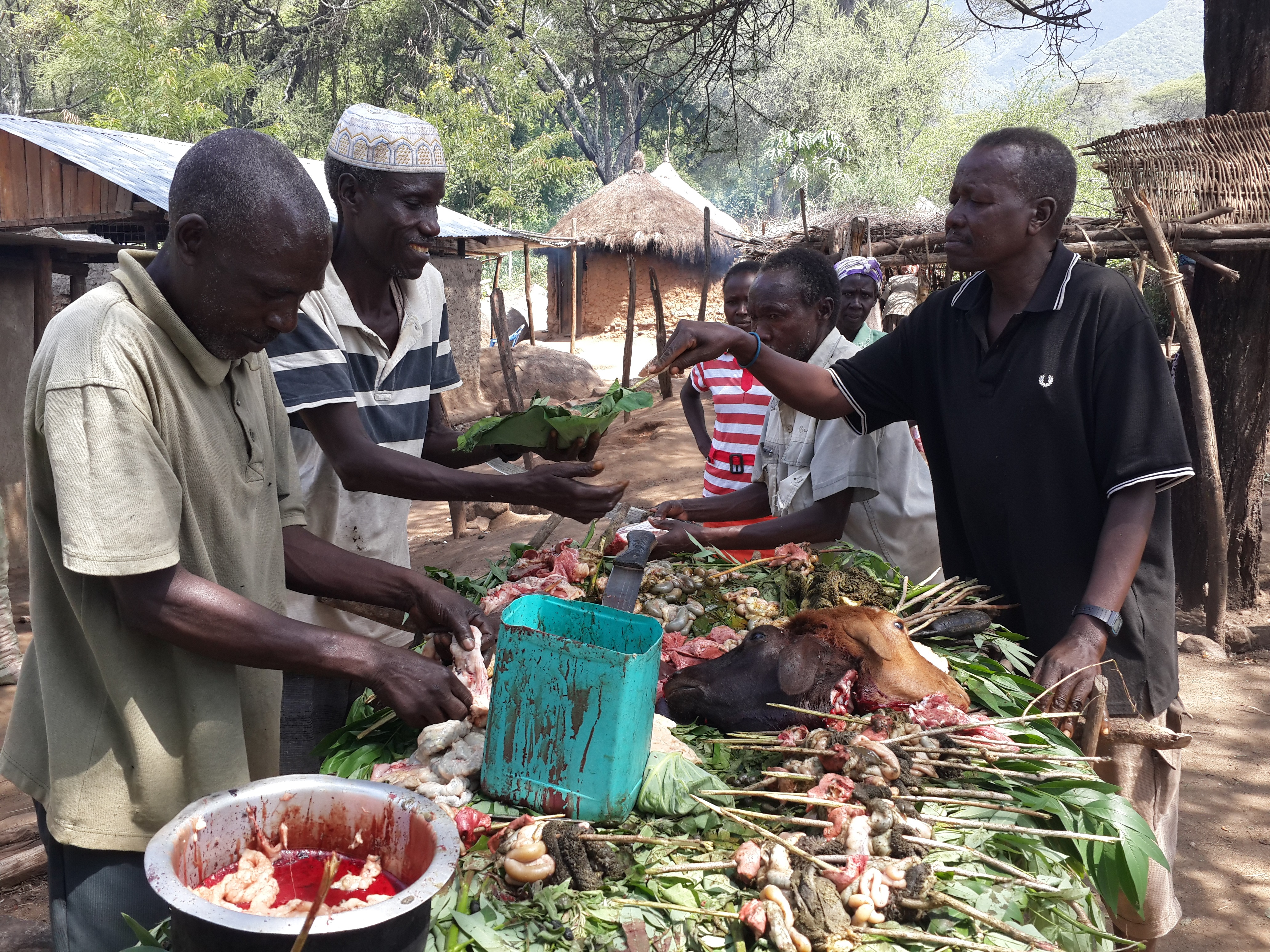 Tugen, Pokot, and Pokot engaging in trade at the Kilos Market as peace resumes in a previously cattle rustling hot spot