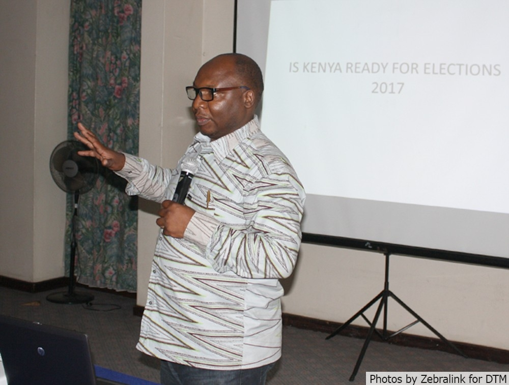 George Kegoro, the Executive Director of Kenya Human Rights Commission (KHRC)