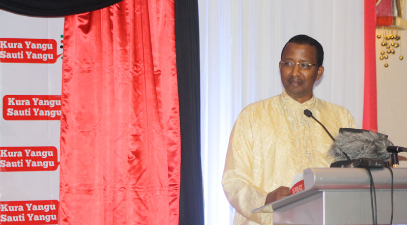IEBC Chairman Ahmed Issaak Hassan